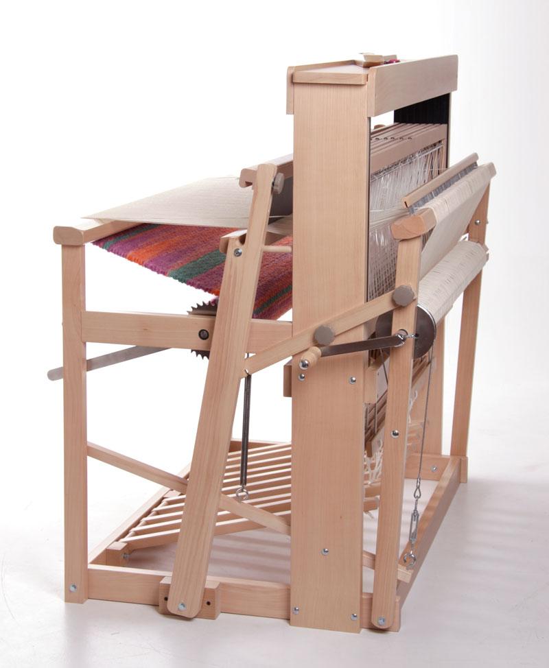 手織機ジャックルーム(後部折畳み時)