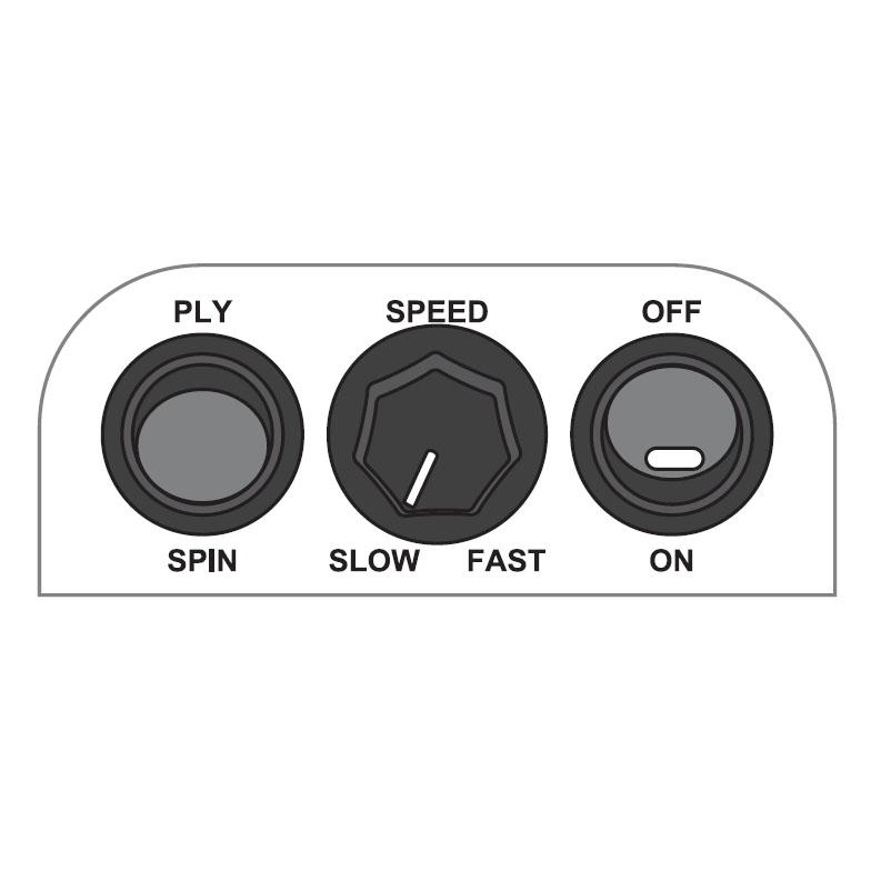 エレクトロニクスピナー3 コントロールパネル