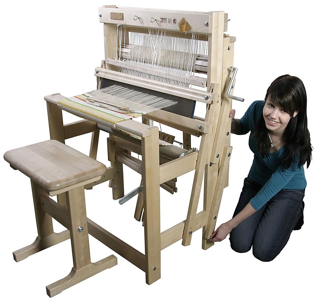 手織機ライラ 後部折畳みイメージ